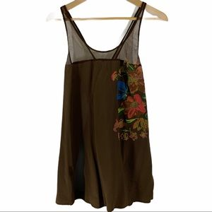 Whitley Silk Tank Top Size Large